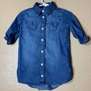 Old Navy toddler girl jean dress
